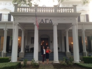 Alpha Gam house at UGA