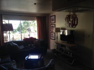 Aztec Corner Suite living room