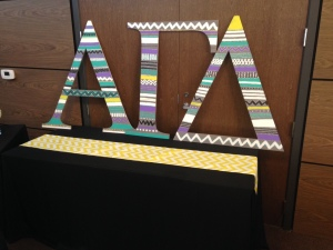 Cute letters the chapter made!