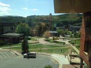 View of campus!