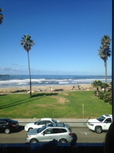 View from brunch in OB!