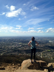 Hike at Cowles Mountain