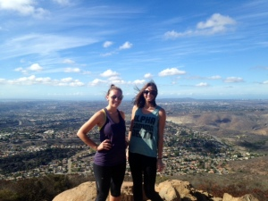 Hiking with Taylor!